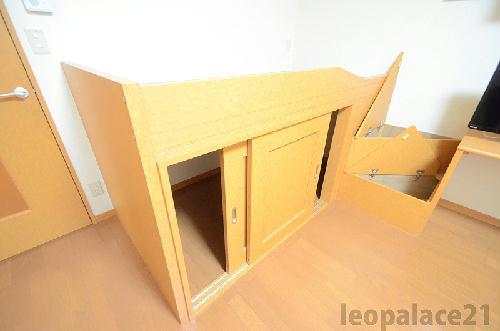 レオパレスコート ドール 103号室の収納