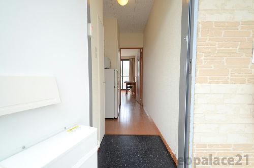 レオパレスコート ドール 208号室の玄関