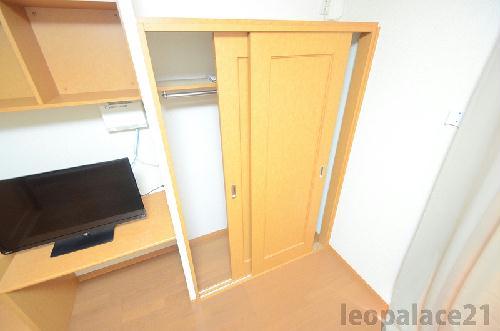レオパレスコート ドール 208号室の収納