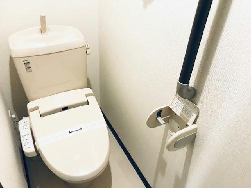 レオネクストルーエ 204号室のトイレ