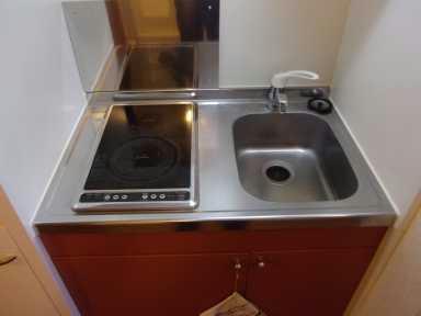 レオパレスライト Ⅱ 203号室のキッチン
