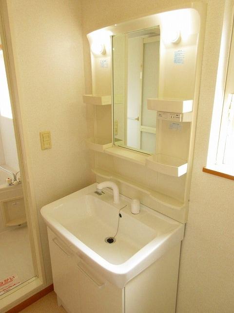 ノイ・アインズ B棟 02040号室の洗面所