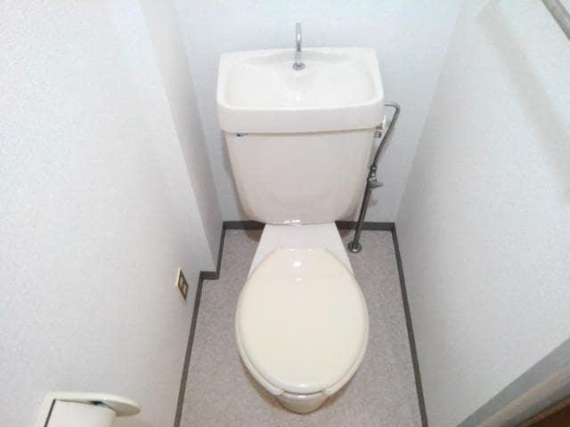 ファミールS 02030号室のトイレ