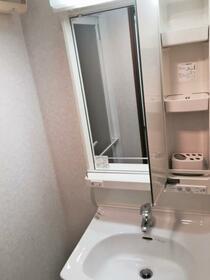 ラフィネジュ横浜南 603号室の洗面所