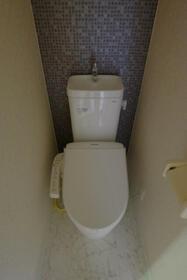 クラブ・ザ・ユナイト・グレンフィールド 102号室のトイレ