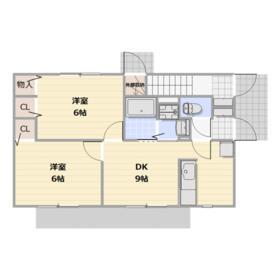町田タウンハウス C101号室の間取り