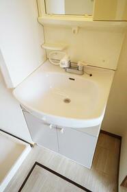 町田タウンハウス C101号室の洗面所