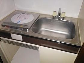 サンパレス中幸 106号室のキッチン