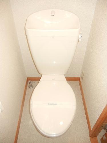 レオパレスアクシオンⅡ 103号室のトイレ