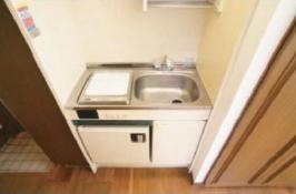 ピュアハウス神大前二番館 202号室のキッチン