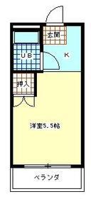 サンアベニュー羽村 303号室の間取り