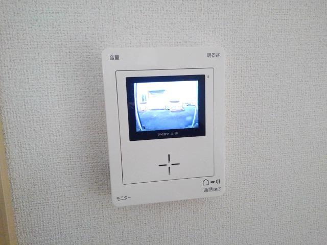 アーバンサクライA棟 01020号室のセキュリティ