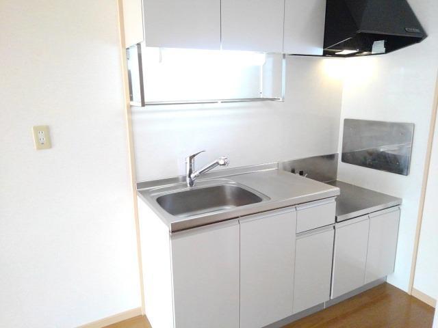 アーバンサクライA棟 01020号室のキッチン