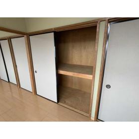 DOMUSマンション C-2号室の収納