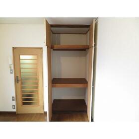Studio Fujita 0101号室の収納