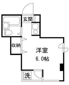 駒込MSビル・301号室の間取り