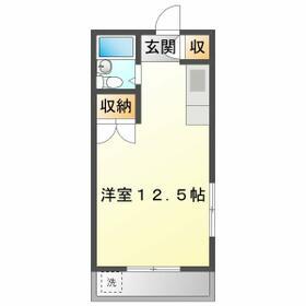 塚田コーポ・103号室の間取り