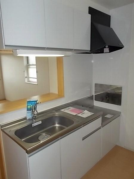 ファミリエB 02010号室のキッチン