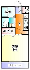 畠山マンション 101号室の間取り