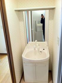 畠山マンション 101号室の洗面所