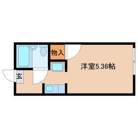 Loa Plata新松戸・110号室の間取り