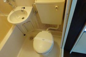 コーポクロサ 101号室のトイレ
