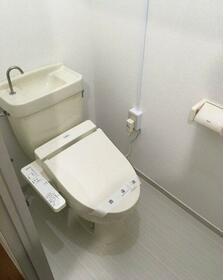 コーポそう苑 202号室のトイレ