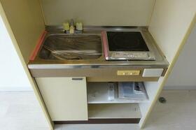 メゾン林間 205号室のキッチン