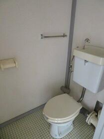 川上団地壱八号棟 1837号室のトイレ