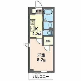 仮称)市原市平田マンション・101号室の間取り