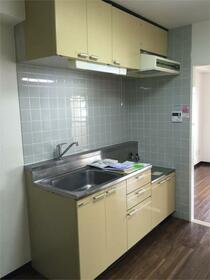 スカイコート両国 1001号室のキッチン
