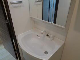 GENOVIA南千住Ⅱskygarden 602号室の洗面所