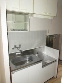 新川崎グレイス 0102号室のキッチン