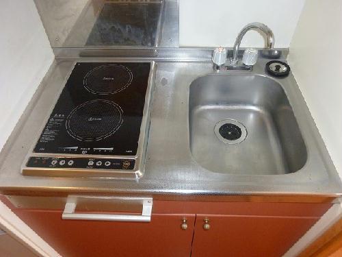 レオパレスペイサージュ 207号室のキッチン