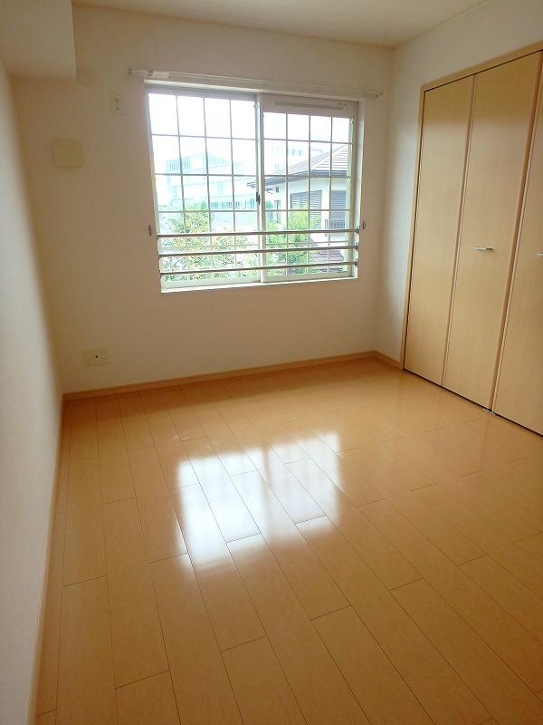 ファインブルク・K 02030号室のベッドルーム