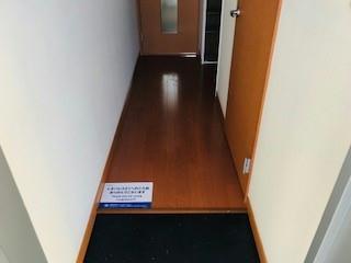レオパレスサンヒダカ 108号室のリビング