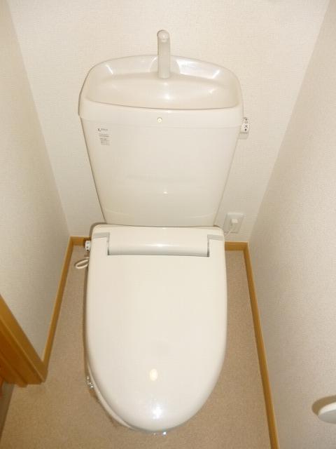 グランデヒサノD 02010号室のトイレ