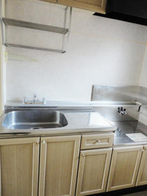 サンライフドリーム 202号室のキッチン