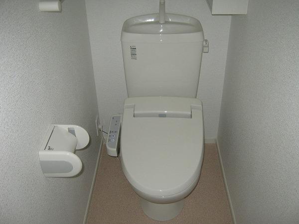 ヴィラ上重原 02010号室のトイレ