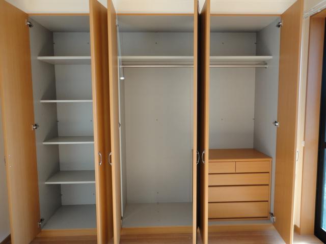 サニープレイス.F 201号室の収納