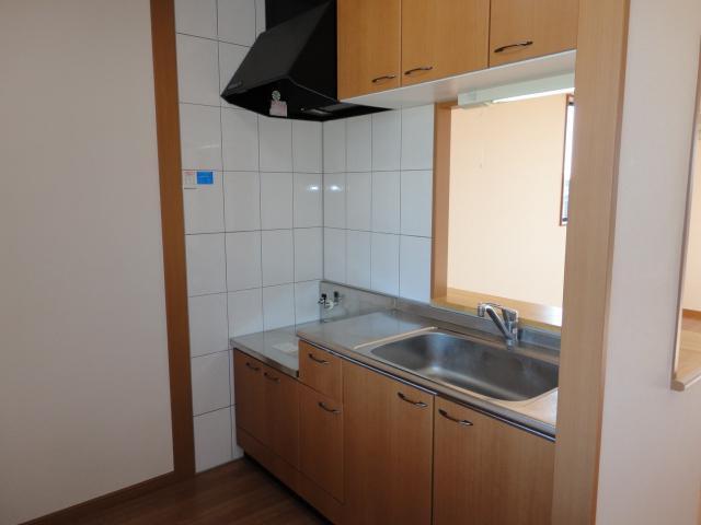 サニープレイス.F 201号室のキッチン