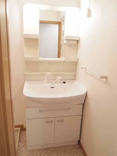 エクセルグリーンⅢ 01010号室の洗面所