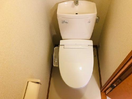 レオパレスチャーム Ⅱ 102号室のトイレ