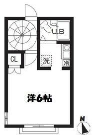 ビラ・リバーサイド多摩川・302号室の間取り