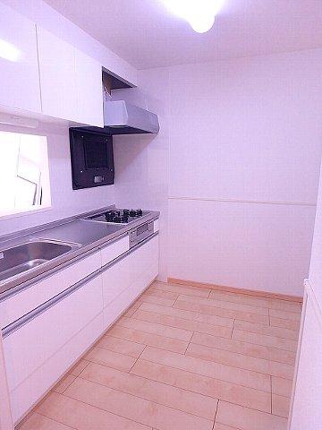 Poseidon 01030号室のキッチン