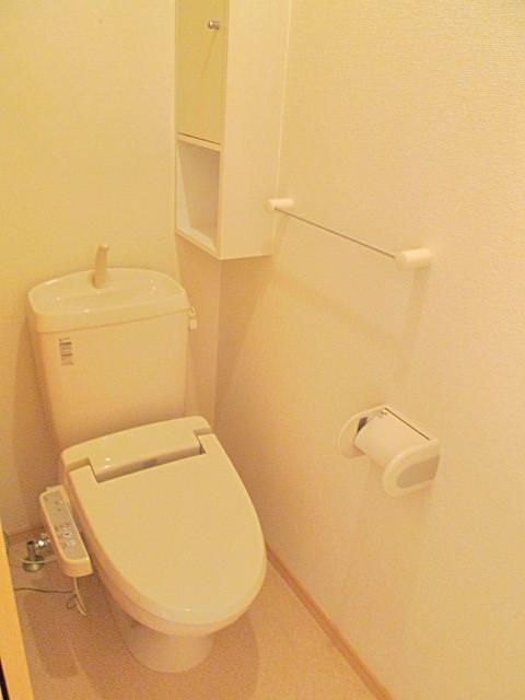 A グラシアス 01020号室のトイレ