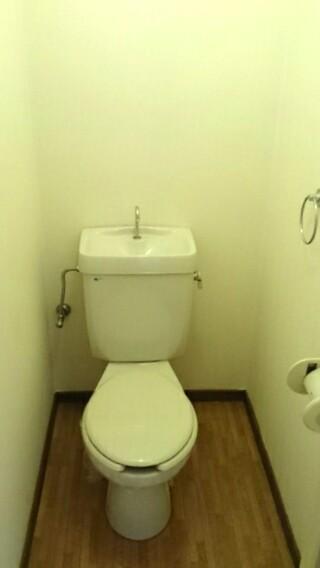 サンヒルズ花園 02020号室のトイレ