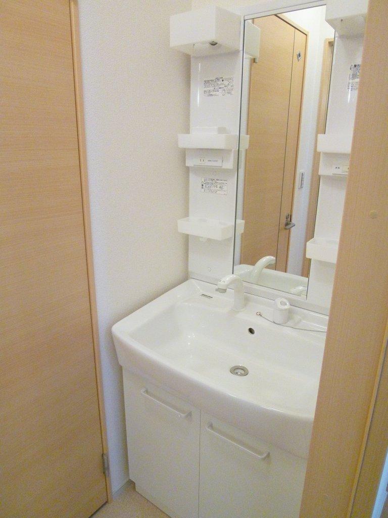 ルーエ・S 01010号室の洗面所