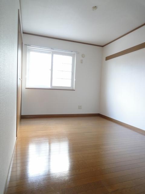 フジハイムⅡ 01010号室のベッドルーム