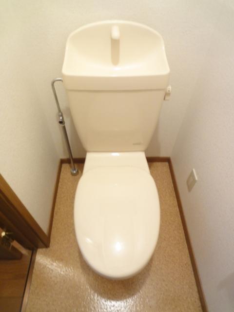 フジハイムⅡ 01010号室のトイレ